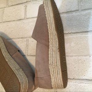 753272c75a8 Toms Shoes - Toms Alpaop suede platform espadrilles 7